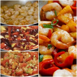 Small Of Sweet And Sour Shrimp