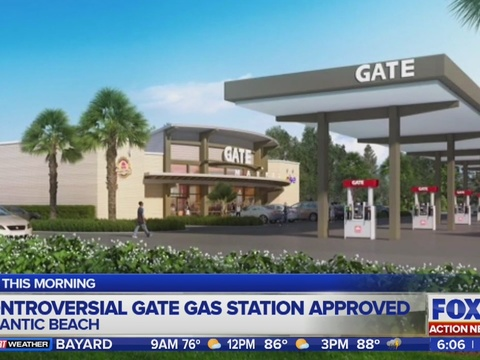 Committee approved Gate gas station in Atlantic Beach WFOX-TV