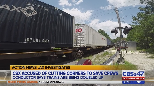 Conductor CSX cuts creating longer trains, delays for neighbors