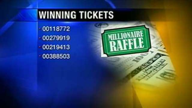 3 local Sheetz stores sell winning Millionaire Raffle tickets - WPXI