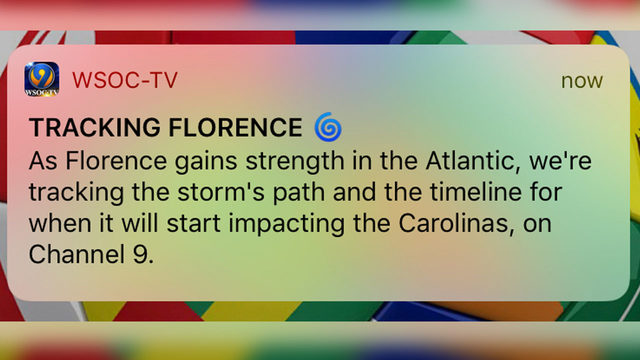 MINUTE-BY-MINUTEPotentially catastrophic Florence eyes Carolina