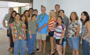 Members of Pacific Media Workers Guild in Hilo, July 2012.