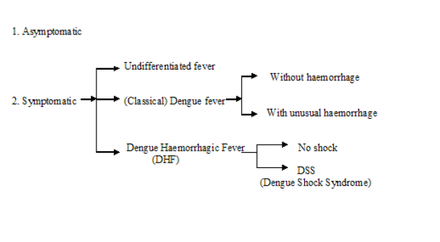 Classification of dengue fever