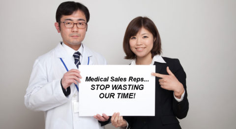 Doctor, Stop Wasting Time With Medical Sales Representatives Who Don