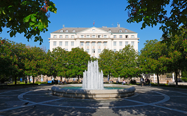One firm hosted officials in the five-star Esplanade hotel in Zagreb, which has a spa and a casino Photo: Alamy