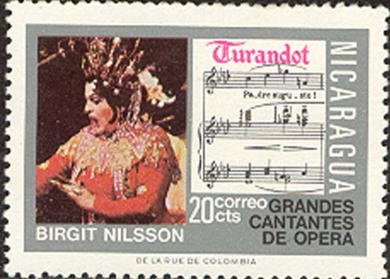 Nilsson stamp