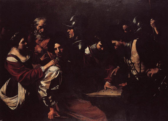 The denial of St Peter