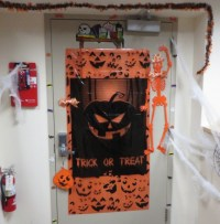 2016 Halloween Door Decorating Contest