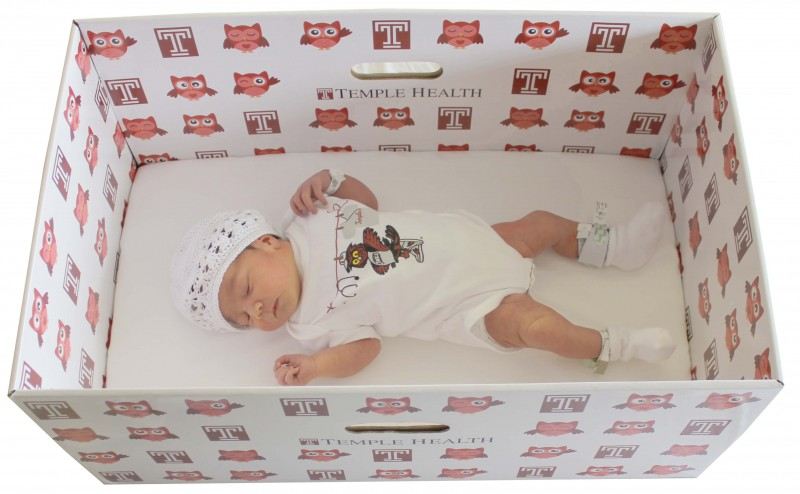 Temple University Hospital To Provide Free Baby Boxes To