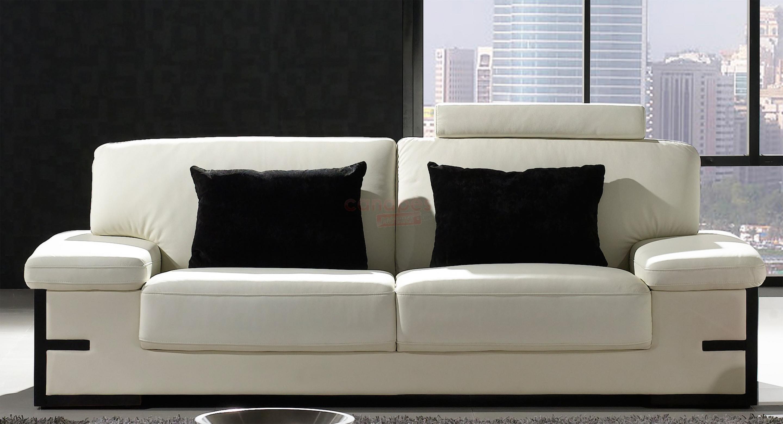 canapés modernes   canapé cuir moderne design luxe salon 2 canapés beau