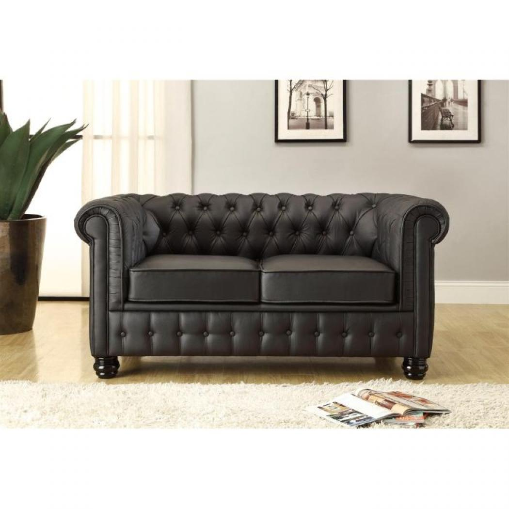 Canapé Chesterfield 2 Places Photos Canapé Chesterfield Cuir 2 Places