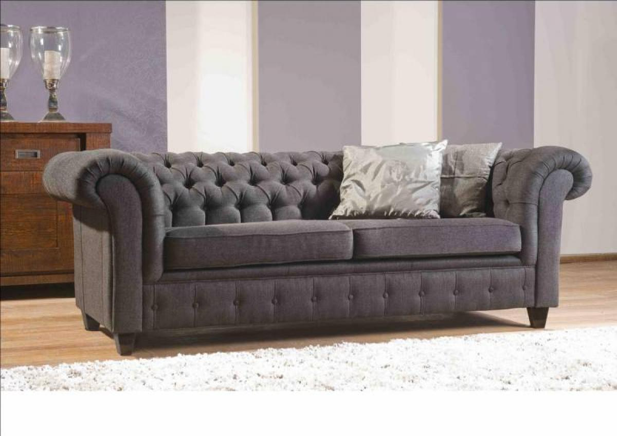Canapé Chesterfield Patchwork Canapés Chesterfield Tissu