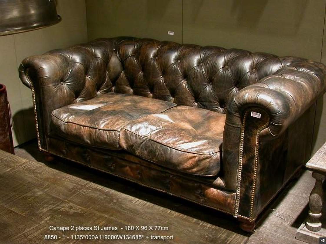 Canapé Anglais Chesterfield Maison Du Monde Photos Canapé Chesterfield
