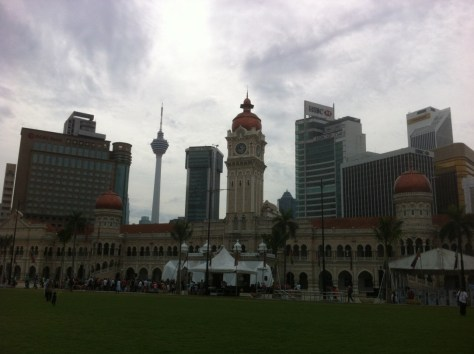 KL Traditional and Modern buildings image