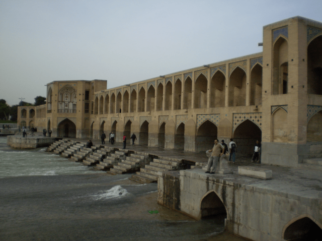 Khwaju Bridge in Isfahan Image