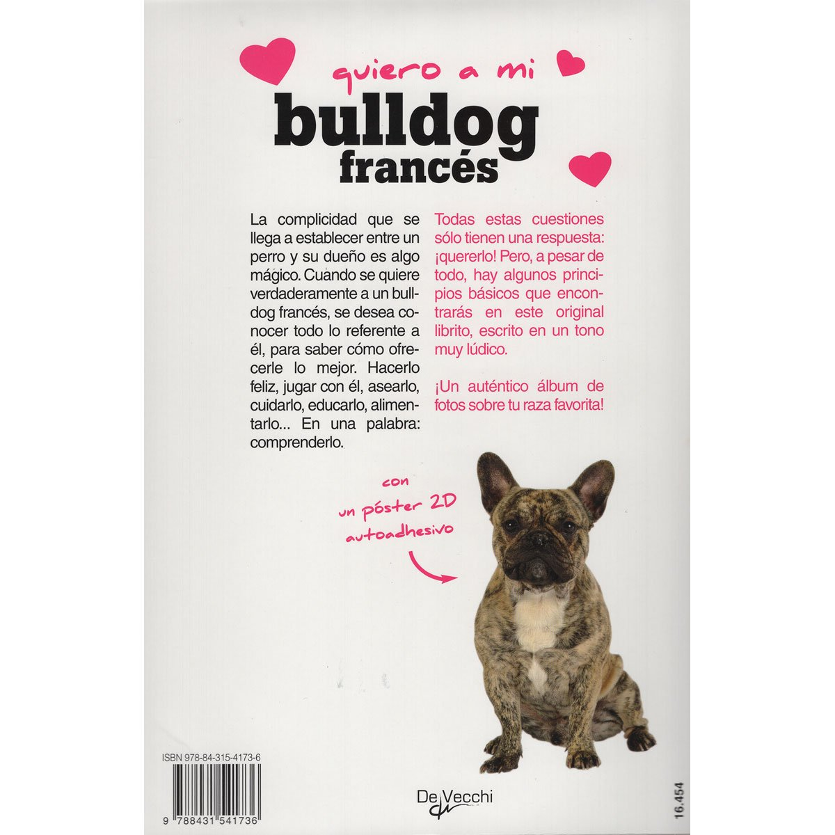 Libro Bulldog Frances Quiero A Mi Bulldog Francés Devecchi Sears Com Mx Me