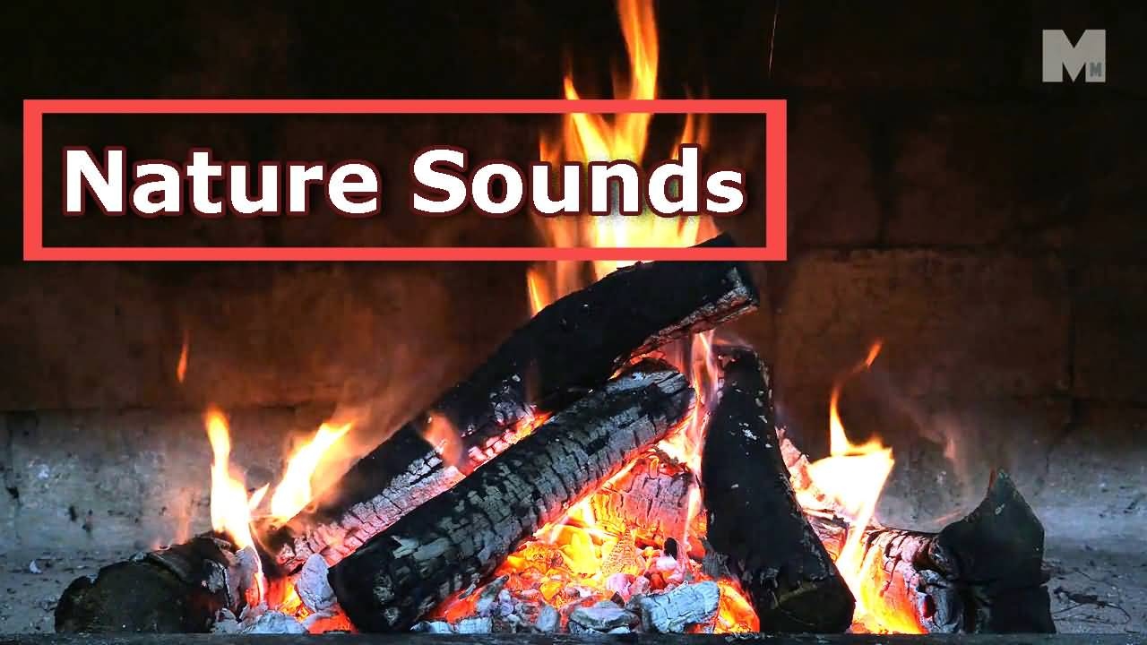 Fireplace Sounds Burning Fireplace With Crackling Fire Sounds
