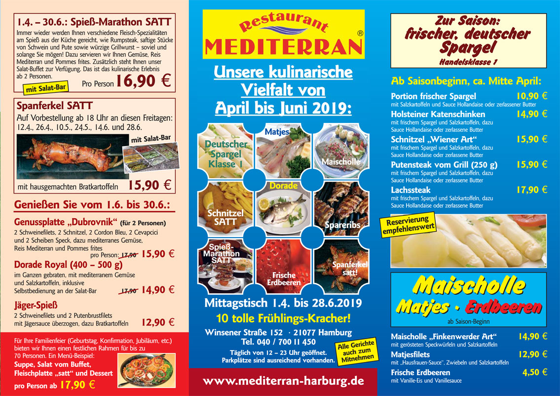 Restaurant Hamburg Harburg Deutsche Küche Restaurant Mediterran In Hamburg Harburg