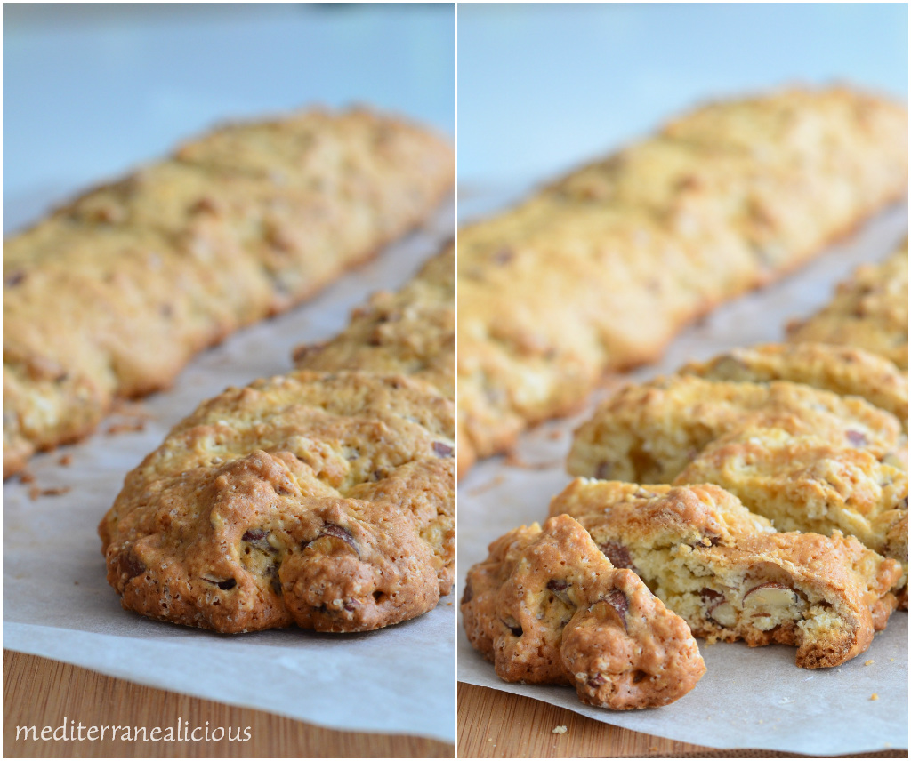 cantuccini - almond cookies 1