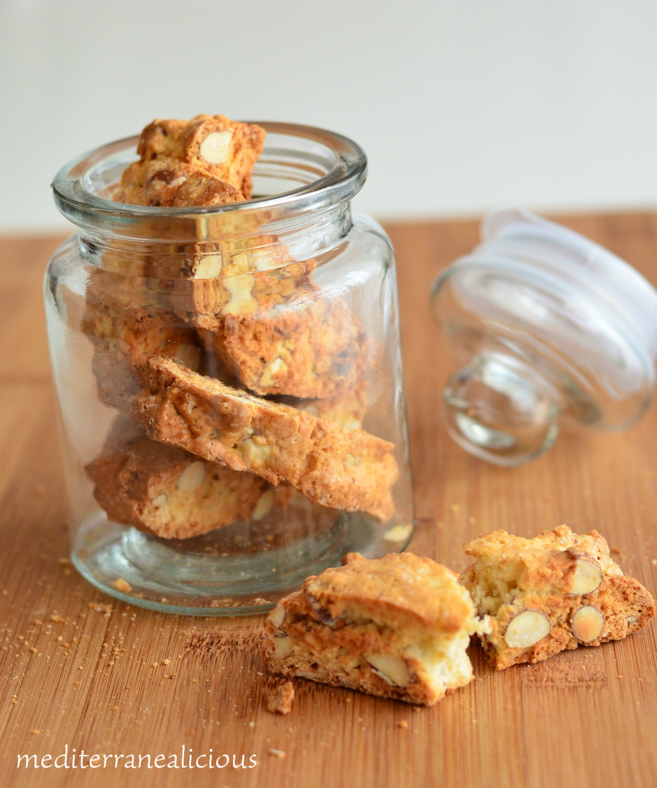 cantuccini - almond cookies 3