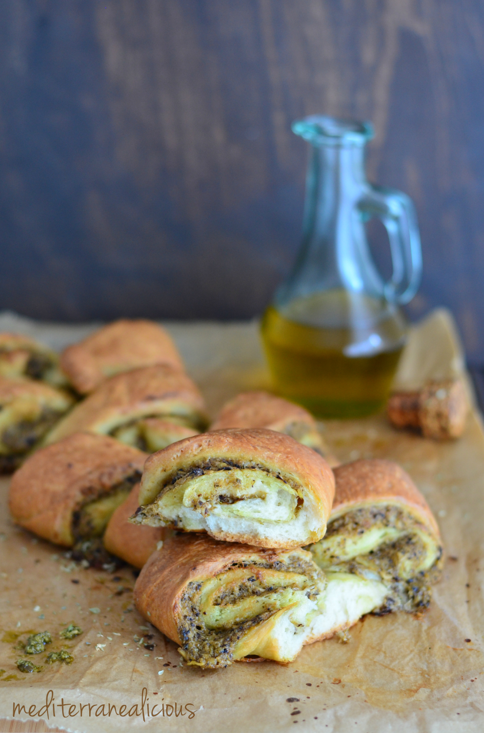 stuffed pull-apart bread roll 5