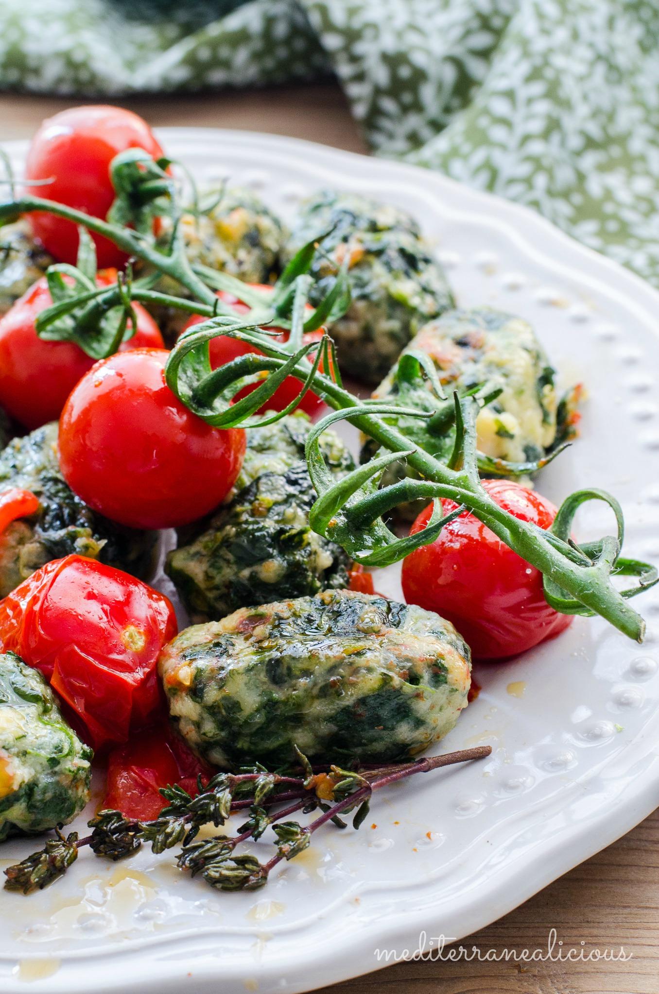 spinach-ricotta gnocchi