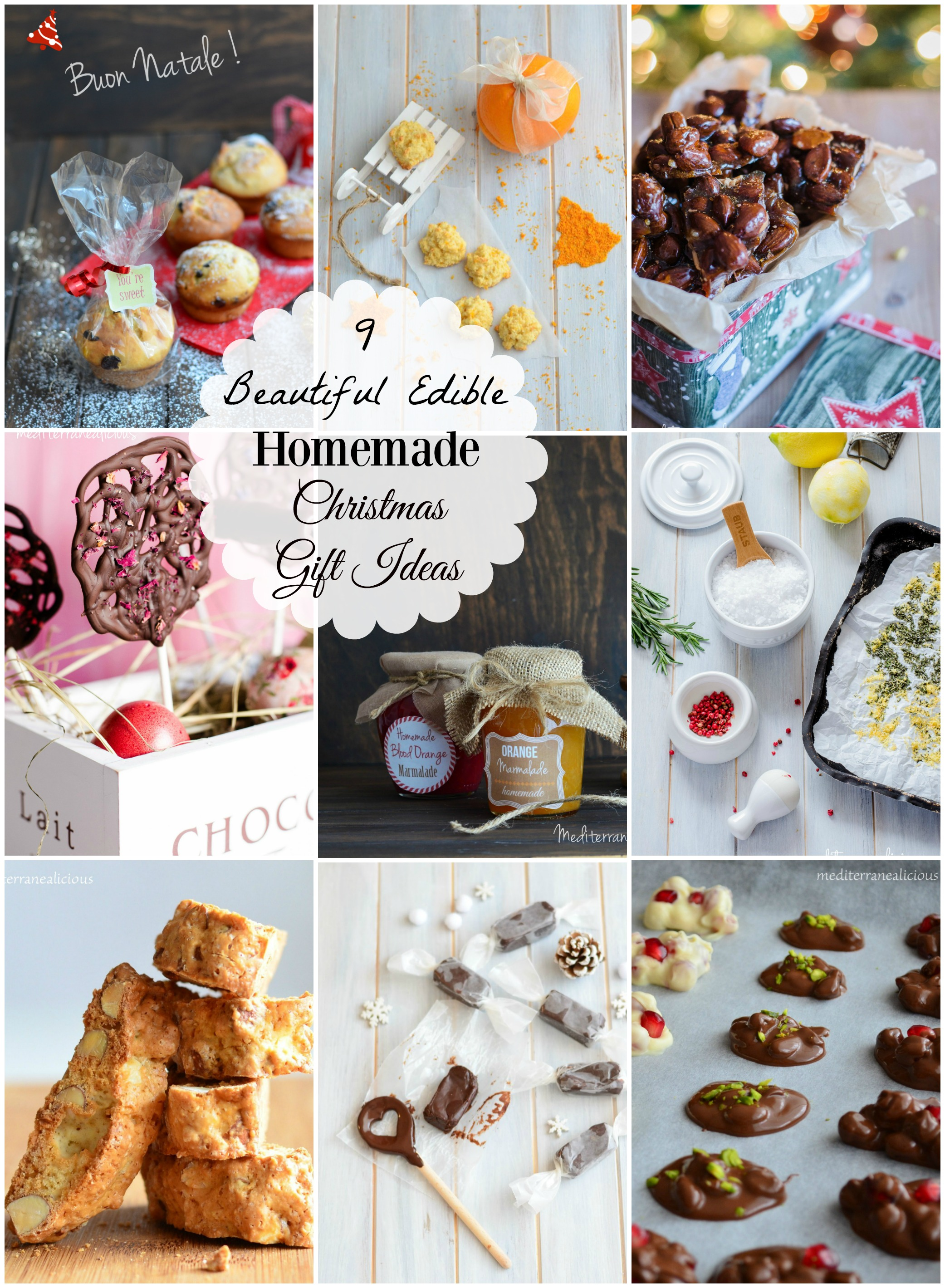 Beautiful Edible Homemade Christmas Gift Ideas