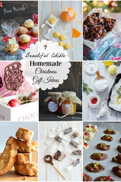 9 Beautiful Edible Christmas Gift Ideas