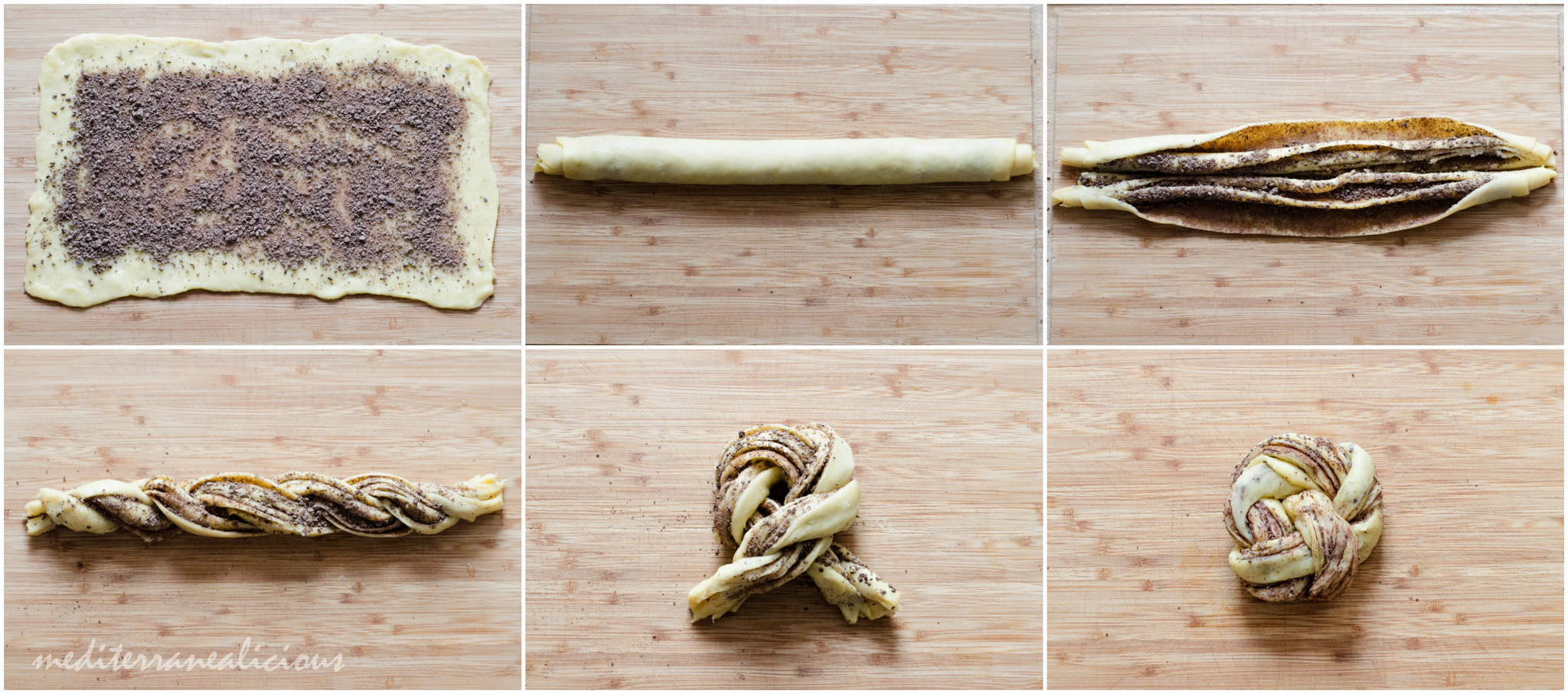 Braided Chocolate Brioche step-by-step