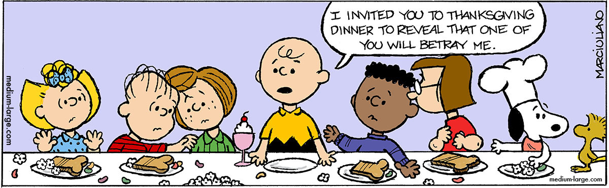 Peanuts Fall Wallpaper Deleted Scenes From A Charlie Brown Thanksgiving