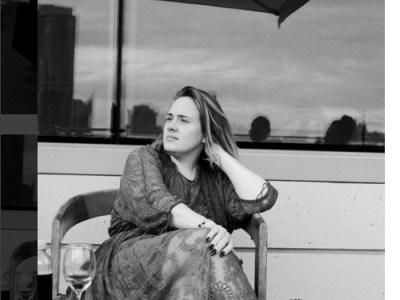 """Adele también se suma a la moda de la """"cara lavada"""""""