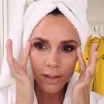 Victoria Beckham y su tutorial de belleza