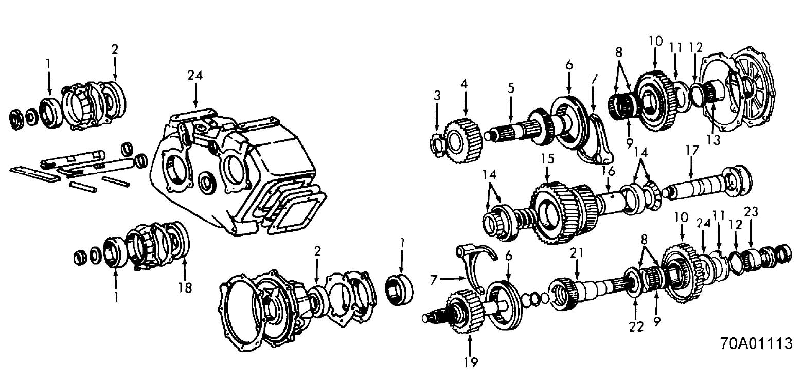 chevy np205 transfer case