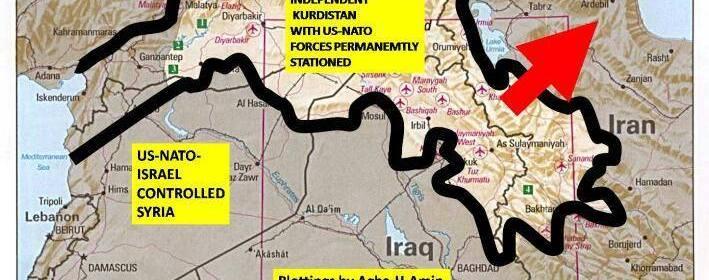 Velký Kurdistan ako krajina zabezpečujúca bezpečný transfer energetických surovín do Európy