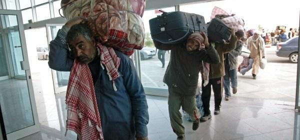 Utečenci, zdroj: Mediafax