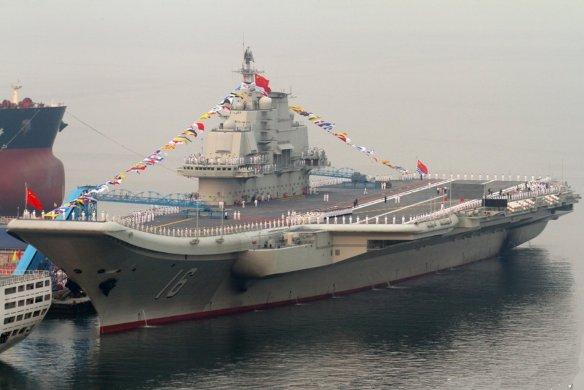 Čínska lietadlová loď Liaoning