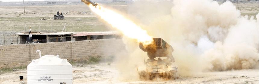 "TOS-1A ""Solncepjok"" v Iraku"