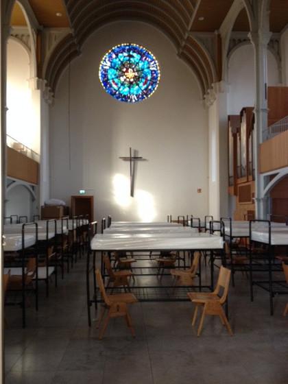 Kostol v Oberhausene