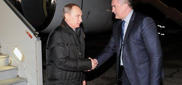 Putin v Simferopole