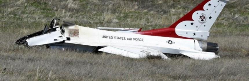 Havaria F-16