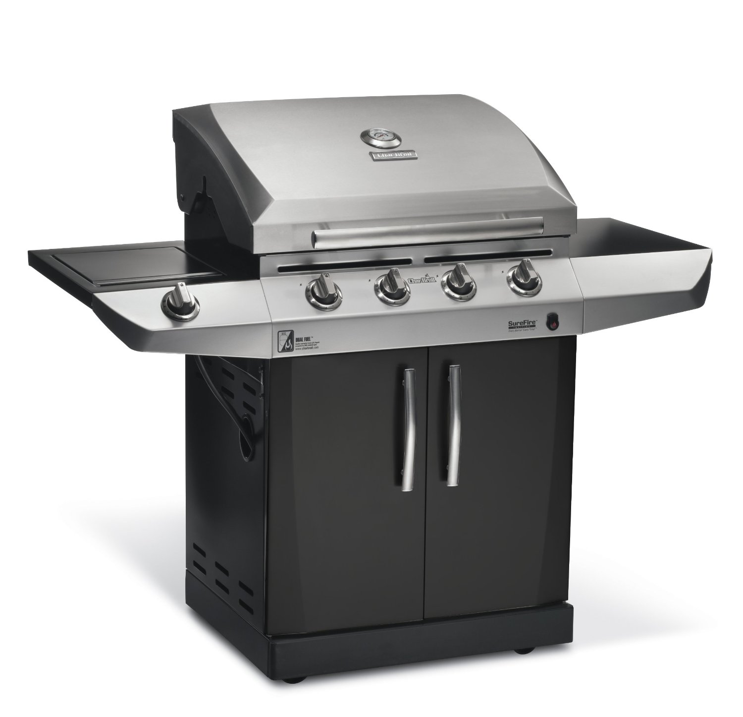 Broil Gasgrill Char Broil Magnum 500 Review Dual Fuel Gas Grill Meet And Grill
