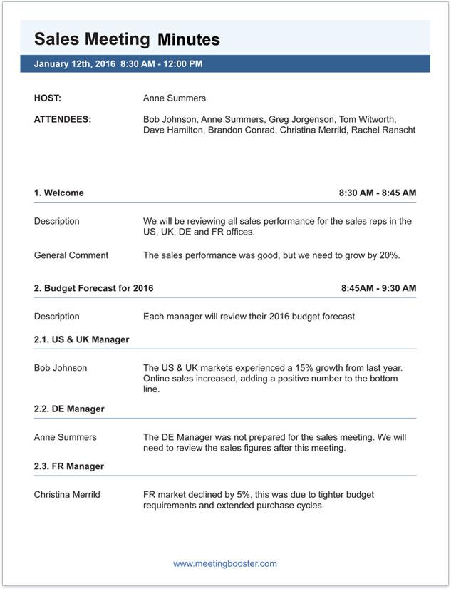 Meeting minutes sample writing / Hook up ooga horn