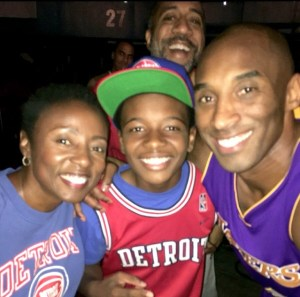 Kobe & mark's family
