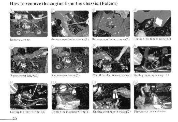Kazuma 90 Mini Falcon Owners Manual