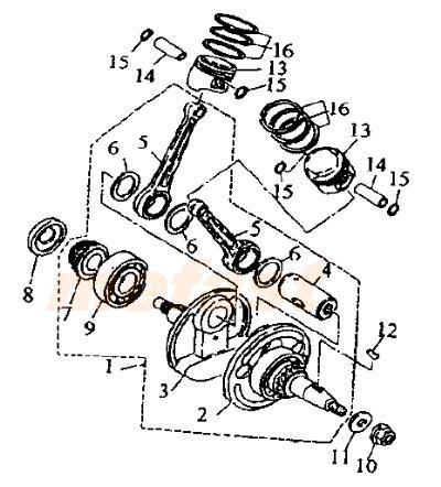 Diagram Wiring Lifan 250 Twin