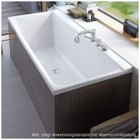 Duravit P3 Comforts Badewanne Rechteck 180 x 80 cm mit 2 ...