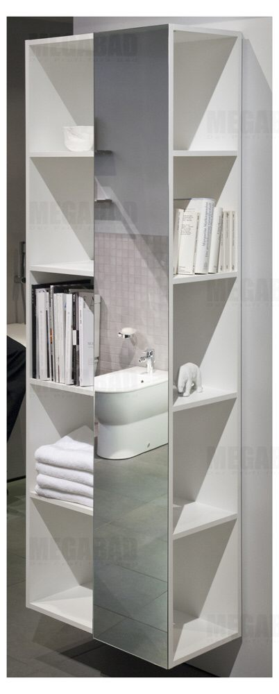 Regal 180 Hoch Duravit Darling New Regal Hoch Mit Spiegel Rechts - Megabad