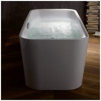 Bette Art freistehende Badewanne mit Ab