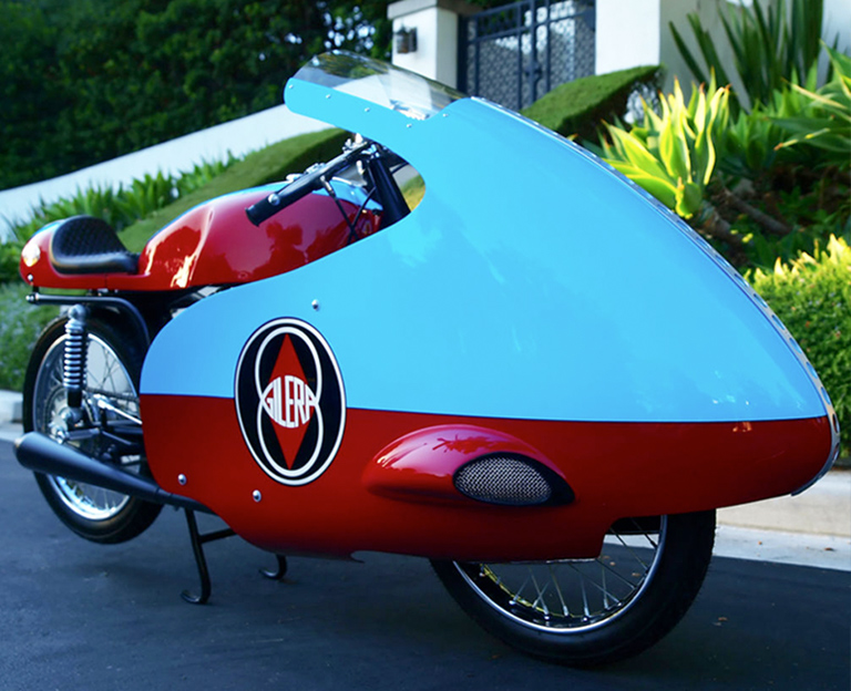 1958 Custom Restored Gilera Road Racing Motorcycle