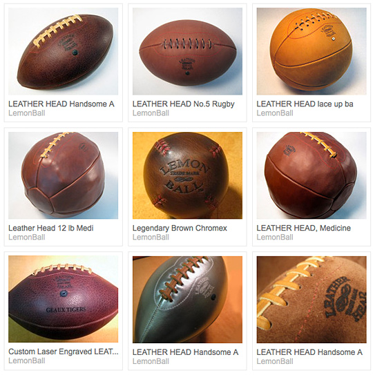 LemonBall Handsome Baseballs and Footballs